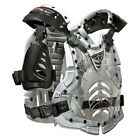 Fly Racing Clear/Silver Adult & Youth Convertible II Chest Roost Protector