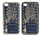 Pride & Prejudice - Rubber and Plastic Phone Cover Case - Book Design