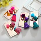 Fashion Tassel Leather Rose Soft TPU Back Case Cover for iPhone 6/6 Plus/Samsung
