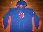NEW YORK METS NEW MLB MAJESTIC PURE V2 COOPERSTOWN HOODED SWEATSHIRT on Ebay