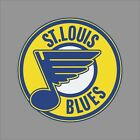 St Louis Blues #9 NHL Team Logo Vinyl Decal Sticker Car Window Wall Cornhole $8.27 USD on eBay