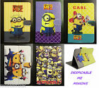"""Despicble Me Universal Leather Stand Case Cover 9.7"""" 10.1"""" Tab Android Tablet PC"""