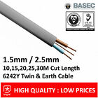 - Twin and Earth 6242Y Cable 2.5mm & 1.5mm Electrical Domestic Wiring Home