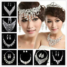 Fashion Silver Necklace Earrings Bridal Jewelry Sets for Wedding Party Prom New