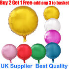 "18"" Round Foil Balloon For Party Wedding Birthday Float With Helium Balloon"