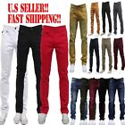skinny ties.com - MEN Jeans Slim STRETCH FIT SLIM FIT Trousers Casual Pants SKINNY AKADEMIKS STYLE