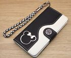Minnie Mouse Wallet Leather Flip Handmade Stand Case For iPhone 5S SE 6S 7 Plus