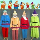 NEW Snow White The Seven Dwarfs Movie Costume Cosplay Tailor custom Made