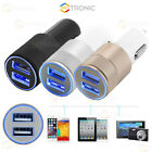 3.1A Aluminum 2 Port USB Car Charger For iPhone 7 6 6s  Plus LG HTC Samsung iPod