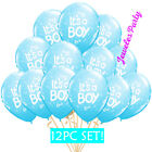 Baby Boy Shower Balloons Its a 1st Newborn First Party Birthday favors supplies