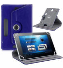"360¡ Folio Leather Case Cover For Universal Android Tablet PC 7"" 8"" 9"" 10"" 10.1"""