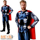 Classic Thor Mens Fancy Dress Avengers Assemble Comic Superhero Adults Costume
