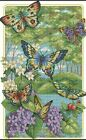 Counted Cross Stitch kit Butterfly Forest Needlework CR1104