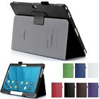PU Leather Stand Card Slot Case Cover For Huawei MediaPad M2 10.0 M2-A01W/L+Film