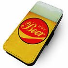 Enjoy Beer -Faux Leather Flip Phone Cover Case- Cola Parody Design £8.6  on eBay