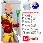 Silicone Case Cover One Punch Man Satiama Caped Baldy Genos Anime AUS