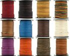 Xsotica  Round Leather Cord 1mm 10 Yards 30 Feet  Over 65 Colors Available