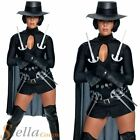 Ladies Sexy V For Vendetta Halloween Fancy Dress Costume Film Adult Outfit + Hat