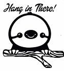 Hang In There Cute Sloth Decal Sticker