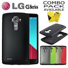 LG G4 / G5 CASE, LIGHTWEIGHT HEAVYDUTY SLIM ARMOR COVER + GLASS SCREEN PROTECTOR
