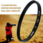 40.5/49/52/55/58/62/67/72/77/82mm Digital UV Filter Lens Protector For Canon