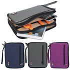 Wrist Strap Zippered Earphone USB Travel Pouch Tablet PC Storage Bag Case OQ