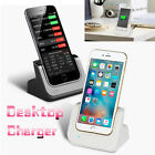 Desktop Charger Cradle Charging Dock Stand Station For iPhone 5 5S 6...