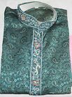 Green Men Kurta Designer Free shawl Payjama Traditional all Sizes