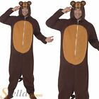 Mens Monkey Animal Fancy Dress Costume Outfit Jungle Chimp Jumpsuit