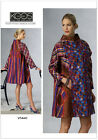 Vogue V1441 Designer Koos van den Akker XS to Plus Size Coat Sewing Pattern 1441