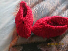 MULTI SELECTION OF BABY FOOTWEAR BOOTS/SOCKS KNITTED & CROCHET LIST 2 premature