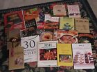 Huge ot of cookbooks books meals cooking kitchen herbs spices bread entrees pie