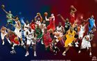 NBA GREATS Poster #01 [Multiple Sizes]  NBA BASKETBALL on eBay