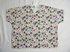 ONLY 5 LEFT Women's Scrub Tops Sizes XLg 3XL Various Prints N W T
