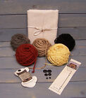 Doll Makin' Essentials Kit~Osnaburg Fabric~You Choose Hair Color