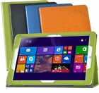 Fashion PU Leather Stand Flip Cover Case For 12 inch CHUWI Hi12 Tablet+Protector