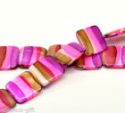 Gift Wholesale Strand Multicolor Square Shell Loose Beads 20mm x 20mm