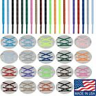 ROUND ATHLETIC Sport 27 36 40 45 54 63 72 Inch SHOELACES - Sneaker Laces - NEW