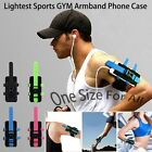 Lightest Free Size Sports Exercise GYM Running Strap Armband Arm Band Case Cover