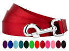 Country Brook Design® 6ft By 1 Inch Heavyduty Doublehandle Nylon Leash