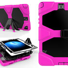For Samsung Galaxy Tab Tablet Heavy Duty Combo Hard Hybrid Stand Skin Case Cover