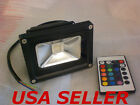 10W RGB Color Change LED Outdoor  WashLight with Remote 12V DC Wash Light
