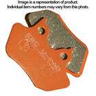 EBC Semi Sintered V Rear Replacement Brake Pad for BMW S1000 R Naked 2014-2015