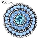 20PCS/Lot Wholesale Vocheng 2 Colors Bead 18mm Interchangeable Snap Vn-1119*20