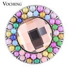 20PCS/Lot Wholesale Vocheng 18mm Rainbow Bead Interchangeable Snap Vn-1124*20