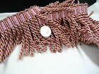 pink 8cm Fringe Tassel Trim Upholstery Curtain lamp trimmings bag costum trims