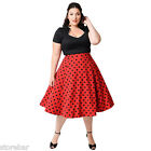 Retro Rockabilly Sexy Women Wiggle Casual Evening Party Vintage Dress Plus Size