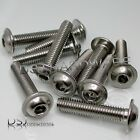 M6 - A2 Stainless Steel Hexagon Socket Flanged Button Screws / 6mm Flange Bolts