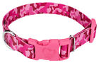 Country Brook Design® Pink Bone Camo Dog Collar with Pink Buckle