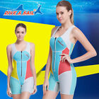 2016 Women Fashioned Scuba Snorkeling Wet Suit Scuba Diving Suit Short conjoined